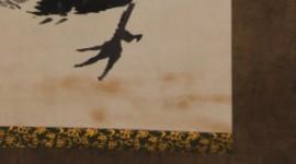 伊藤若冲「鶏図」の修復画像